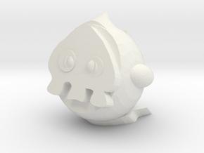 Duskull in White Natural Versatile Plastic