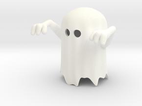 Spook (downloadable) in White Processed Versatile Plastic