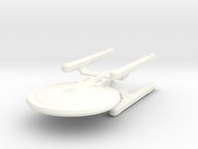 1/2500 - Tessera Explorer Cruiser (solid nacelles) in White Processed Versatile Plastic