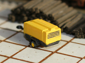 TT Scale Atlas Copco Mobile Compressor in Frosted Ultra Detail