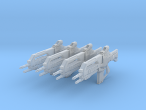 Vindicator XI (1:18 Scale) 4 Pack in Smooth Fine Detail Plastic