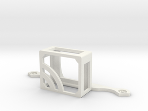 RFV16 GPS Holder for DJI Phantom 3 in White Natural Versatile Plastic