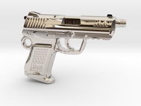 SPM-A001-Hk45-02 Heckler & Koch 45C Keychain in Platinum