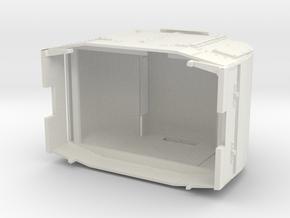 B-1-32-armoured-simplex in White Natural Versatile Plastic