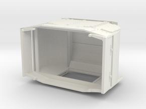 B-1-32-protected-simplex-doors-open in White Natural Versatile Plastic