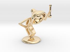 """Lala as """"Mechanic"""" - DeskToys in 14k Gold Plated Brass"""
