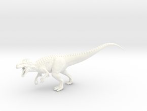 Indominus Rex  in White Strong & Flexible Polished