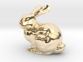 Bunny in 14K Yellow Gold