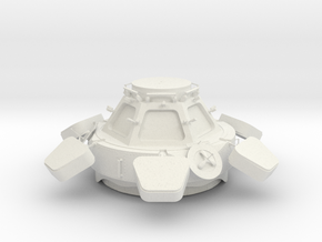 ISS Cupola Replica 1/25 in White Natural Versatile Plastic