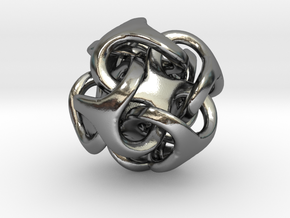 Metatron 12mm Thickened For Polished Silver in Polished Silver