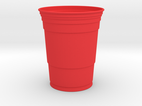 Giant Red Solo Cup in Red Processed Versatile Plastic