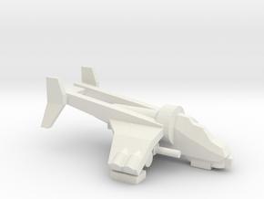 [5] Gunship in White Natural Versatile Plastic