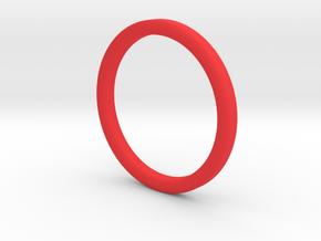 Finger Hula Hoop in Red Processed Versatile Plastic