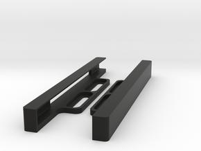 Linx 10 Tablet Slimline Wall Mount in Black Natural Versatile Plastic