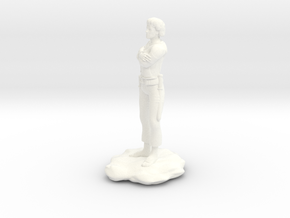 Halfling Rogue with Dual Shortswords in White Processed Versatile Plastic