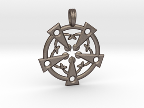 MAGICK SOULS in Polished Bronzed Silver Steel