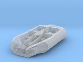 Battletech Civilian five seat Hovercraft in Smooth Fine Detail Plastic