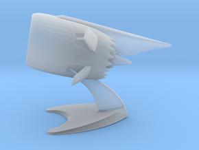 Jet Engine Desk Display in Smoothest Fine Detail Plastic
