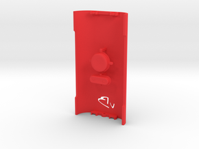 DNA200 mixNmatch - Standard back and buttons in Red Processed Versatile Plastic