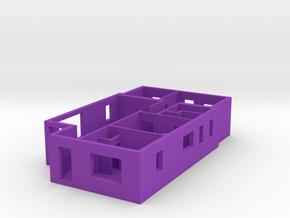 House in Purple Processed Versatile Plastic