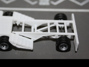 000035 Booster Axle HO 1:87 in White Strong & Flexible