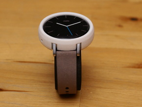Moto 360 Gen 2 Bumper Case - 42mm Womens Short in White Natural Versatile Plastic