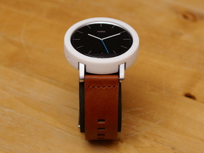 Moto 360 Gen 2 Bumper Case - 42mm Mens Short in White Natural Versatile Plastic