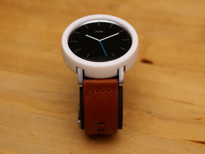 Moto 360 Gen 2 Bumper Case - 42mm Mens Tall in White Natural Versatile Plastic