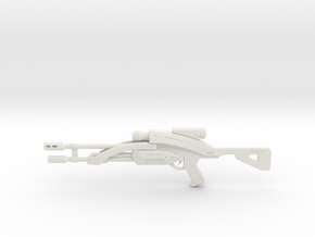 Mass Effect 1:6 M-92 Mantis Sniper Rifle in White Strong & Flexible