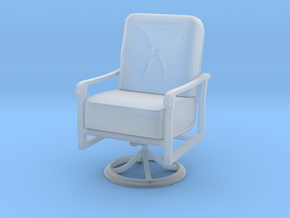 Mini Chair in Smooth Fine Detail Plastic