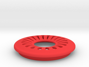 DRAW lamp - decorative ring D in Red Processed Versatile Plastic