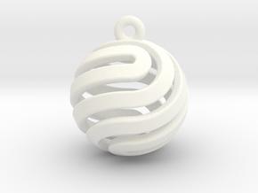 Ball-small-14-4 in White Processed Versatile Plastic