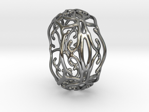 Ivy Ring in Polished Silver