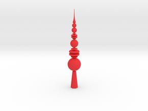 Christmas Tip in Red Processed Versatile Plastic