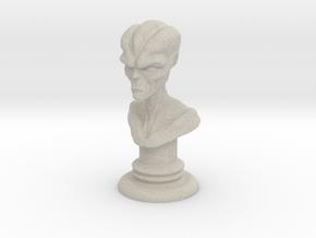 Alien-01 in Natural Sandstone