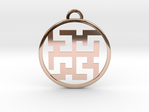 Magic Spirit Pendant in 14k Rose Gold Plated