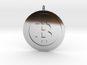 "Bitcoin ""We Use Coins"" Style in Fine Detail Polished Silver"