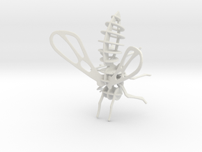 honing bij / honey bee in White Natural Versatile Plastic