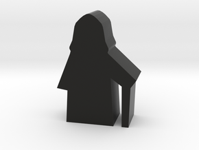 Game Piece, Dark Emperor in Black Natural Versatile Plastic