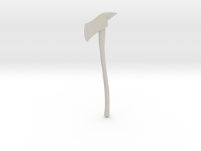 Miniature Axe in Natural Sandstone