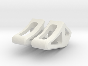 keyboard and trackpad stand for imac in White Natural Versatile Plastic