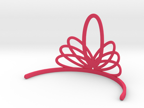Princess Tiara in Pink Processed Versatile Plastic