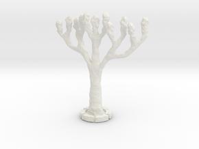NNA01 Tree in White Natural Versatile Plastic