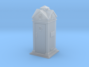 35mm/O Gauge AA Phone Box in Smooth Fine Detail Plastic