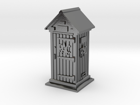 35mm/O Gauge RAC Phone Box in Polished Silver