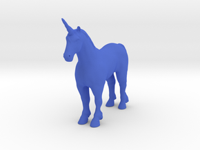 Unicorn in Blue Strong & Flexible Polished