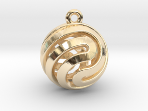 Ball-small-14-2 in 14K Yellow Gold