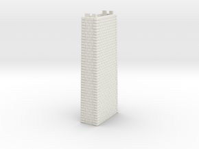 NV1M5 Modular viaduct 1 track in White Natural Versatile Plastic