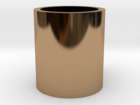 Monopoly Mug Custom Peice in Polished Brass