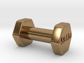 Monopoly Weight Custom piece in Natural Brass